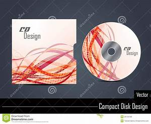 presentation of cd cover design stock vector With cd cover design template free download