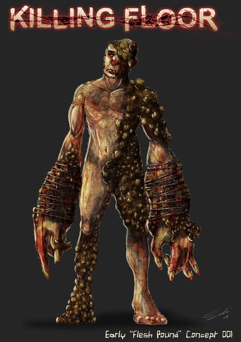 killing floor 2 quarter pound killing floor flesh pound character design process