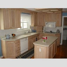 Lowes Unfinished Cabinets  Narrow Kitchen With Light