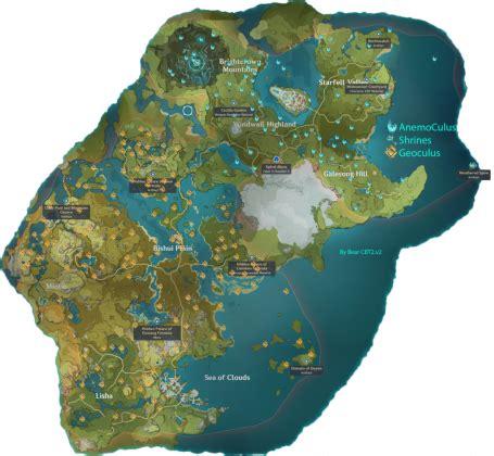 Want to embed the map in your website? Genshin Impact Karte von Teyvat - Genshin Impact Forum ...