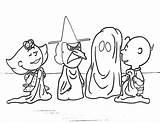 Halloween Charlie Brown Coloring Printable Pumpkin Colorings sketch template