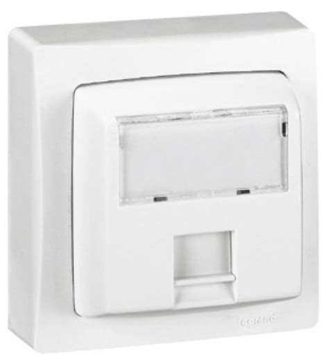 prise rj45 cat5 ftp saillie legrand ref 086061 composable module 45 prise multim 233 dia prise
