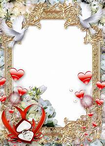 Wedding-Photo-Frame-Golden-Luxury.png (914×1280 ...