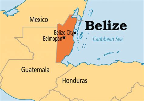 Onde Fica Belize No Mapa Best Map Collection