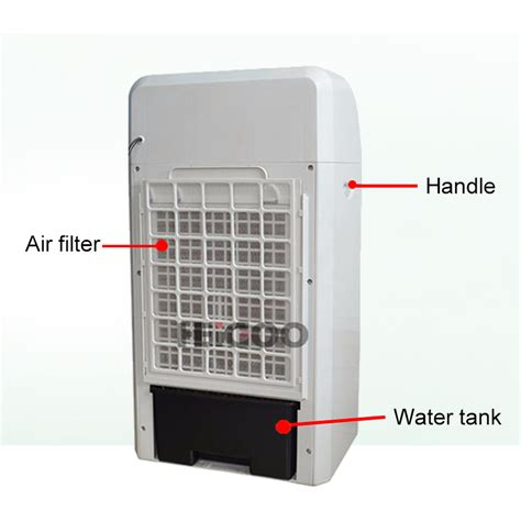 fan with ice compartment evaporative air cooler with water and ice box for