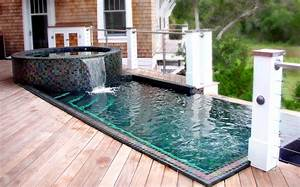 Residential Swimming Pool Spa Rock Pool Slides For