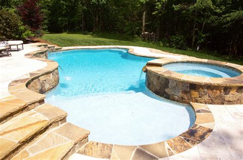 Hickory North Carolina Inground Concrete Pool Specialists