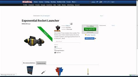 ~roblox~ Buy Gear For Free