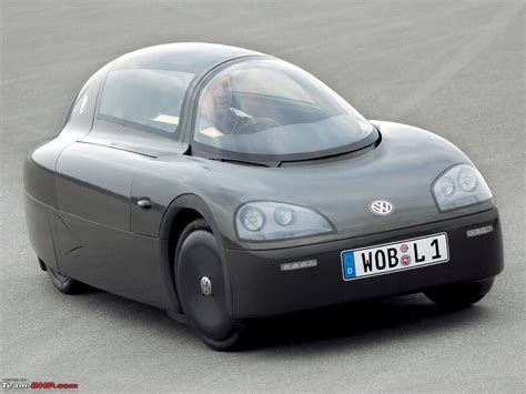 Efficient Car In The World by Worlds Most Fuel Efficient Car Vw 1 Liter Car Team Bhp