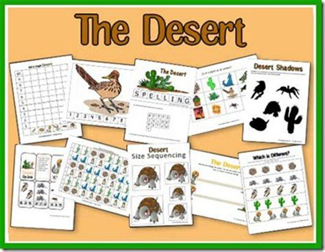free desert unit study free homeschool deals 169   cap 114