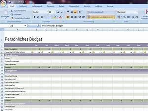 Budget Rechnung : pers nliches budget 2 ~ Themetempest.com Abrechnung