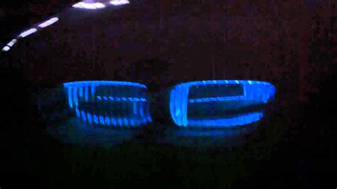 bmw  kidney grille led lights youtube