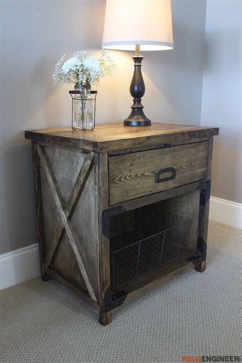 simpson diy nightstand plans rogue engineer diy plans woodworking projects diy diy