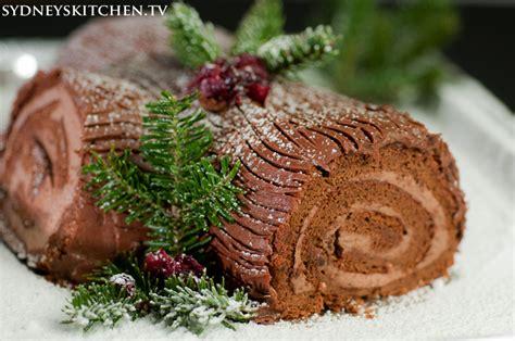 christmas yule log buche de noel sydney skitchen