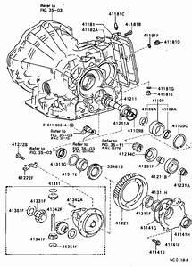 1990 Toyota Corolla Gear  Speedmeter Drive  Atm