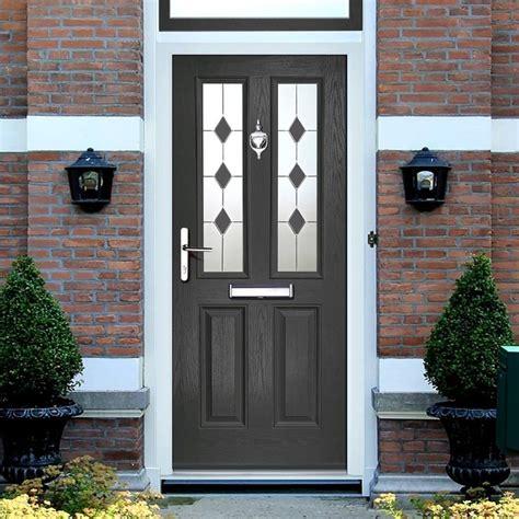 external virtuoso clifton sextet composite door shown  anthracite grey composite exterior
