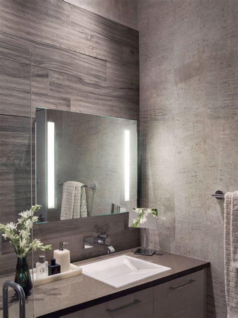 Modern Bathroom Gray by Modern Gray White Master Bathroom Contemporary