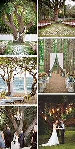 outdoor wedding ceremony under a tree the destination With outdoor wedding ceremony ideas