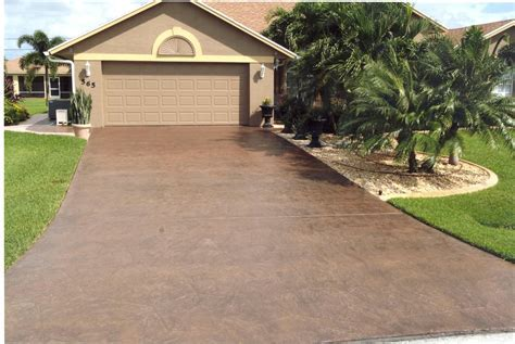 Concrete Driveway Orlando Fl   Sundek Concrete Coatings
