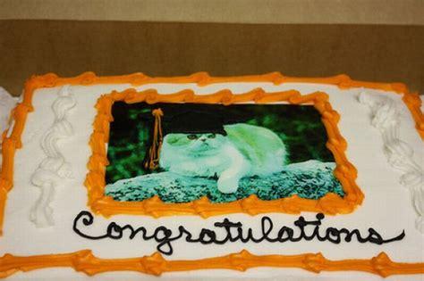 congratulations   graduation cake  lone girl