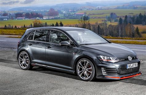 volkswagen gti abt offers powertrain and visual upgrades for the 2017