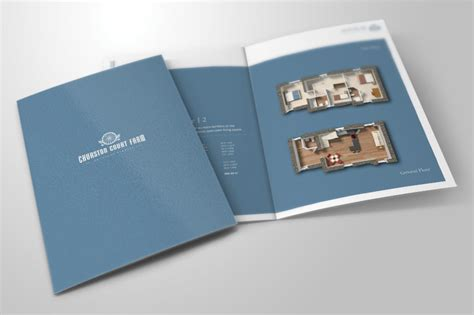 property pamphlet affordable graphic print design for your business