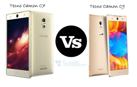 what is the difference between c7 and c9 light bulbs tecno camon c7 vs tecno camon c9 specs comparison