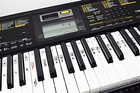 New Electronic Piano Keyboard Music Note Stickers Decal