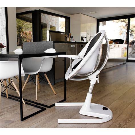 chaise haute bébé design chaise haute bébé moon 2g de mima