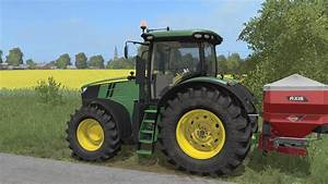 John Deere 7r : john deere 7r by lucw33 mod for farming simulator 2017 serie 7r ~ Medecine-chirurgie-esthetiques.com Avis de Voitures