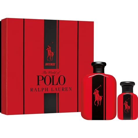 luxury fragrance l wholesale ralph lauren polo red intense edp m gift set luxury