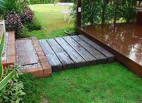 ideas  mixing materials  create beautiful yard