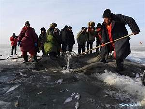 Winter fishing event held on Chagan Lake in China's Jilin ...