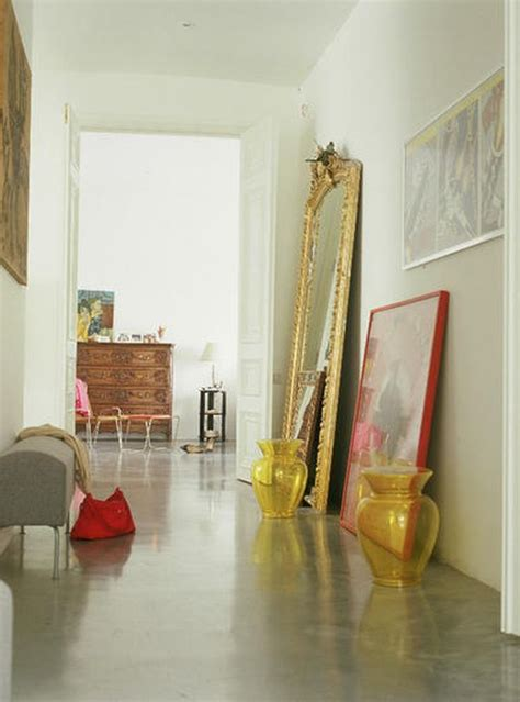 floor mirror decorating ideas 25 best hallway walls make your hallways as beautiful as the rest of your home