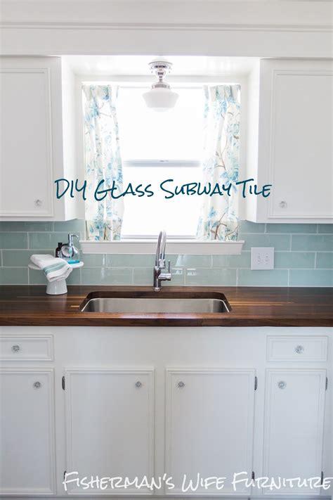 Fisherman's Wife Furniture Glass Tile Backsplash