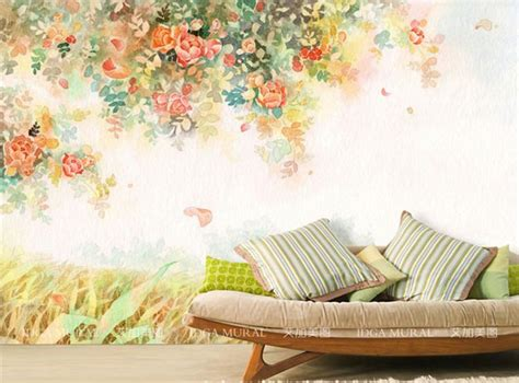 elegant photo wallpaper rose flower wall murals  custom wallpaper kids bedroom living room