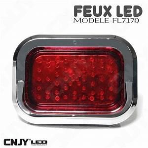 Feux À Led : feux stop position a led rouge 12v 24v etanche ip68 pour auto moto quad camion remorque 14 96 ~ Louise-bijoux.com Idées de Décoration