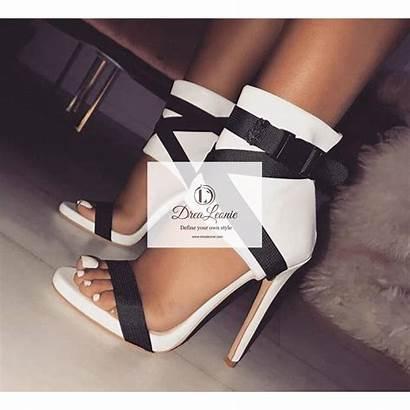 Heels Sandals Gladiator Toe Fabric Peep Drealeonie