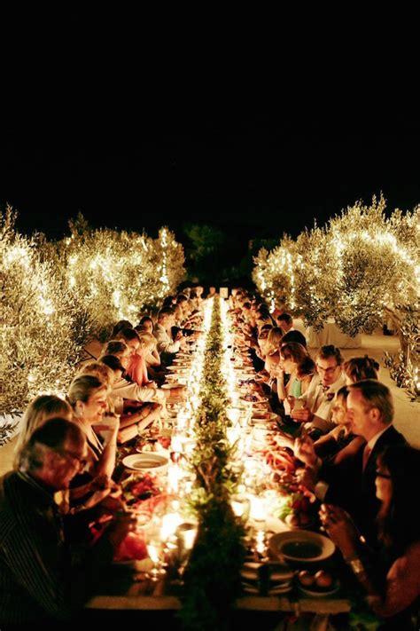 fabulous long wedding tables belle  magazine