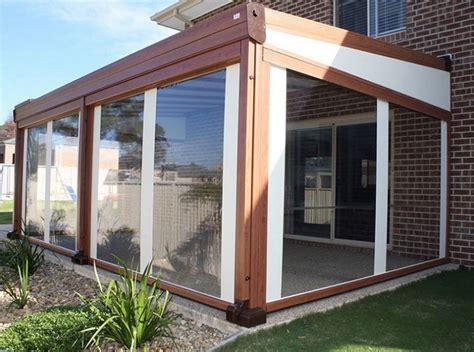 chiusure per verande in pvc chiusure per esterni in pvc per balconi verande porticati bar