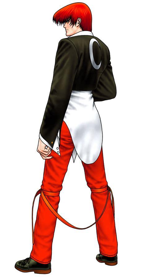 iori yagami characters art  king  fighters