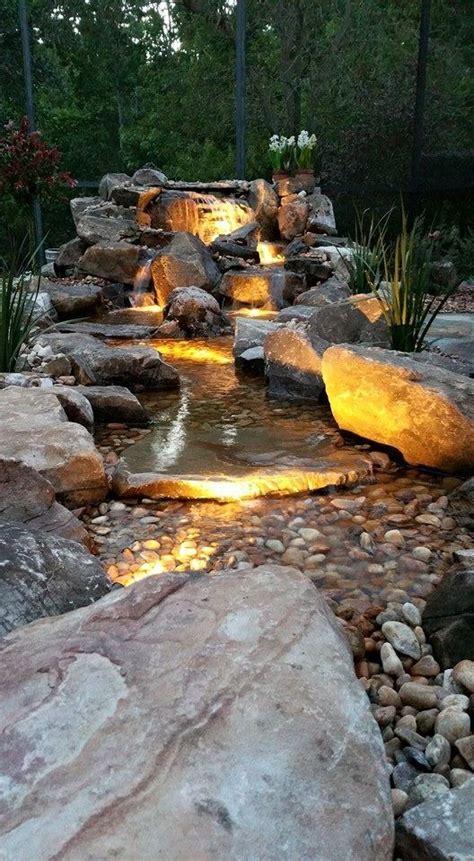 Steingarten Mit Wasserlauf by Steingarten Wasserfall Gartengestaltung Bach Garten
