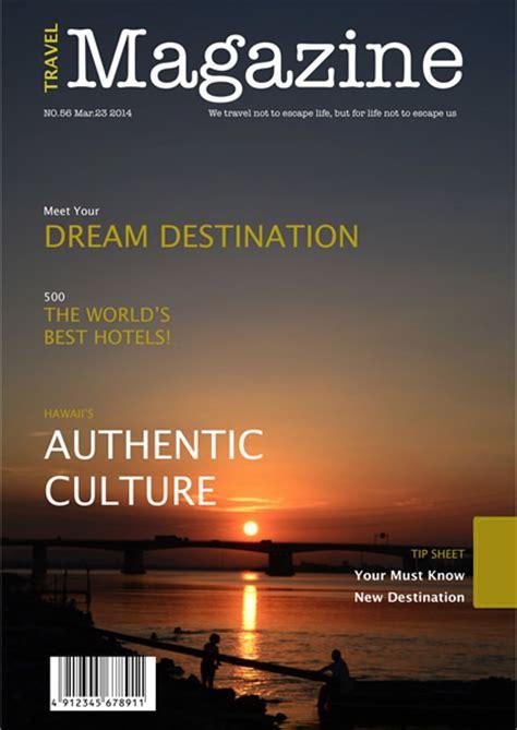 magazine templates samples  magazine