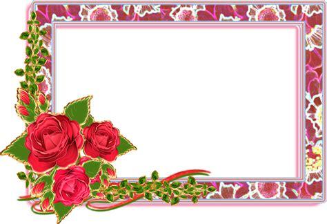 Marcos de flores naturales para descargar PNG fotomontaje