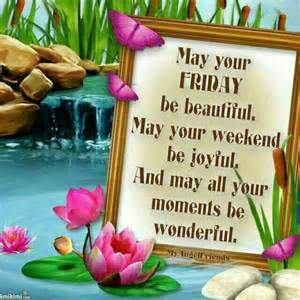 Beautiful Good Morning Friday Blessings