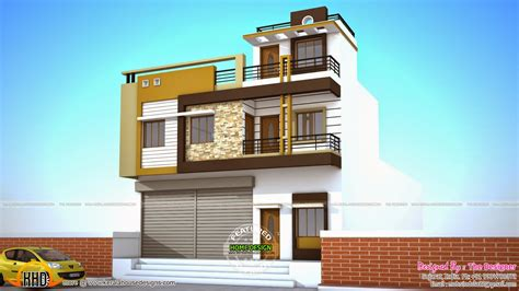 Style X Shop by 2 House Plans With Shops On Ground Floor In 2019 House