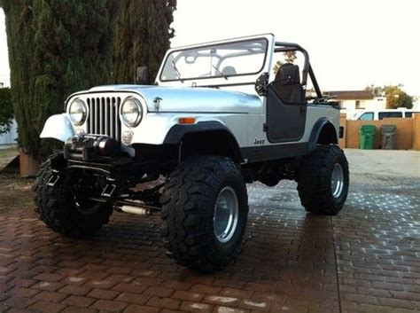 find  jeep cj fast loud   amc  custom