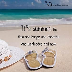 20+ Summer Quot... Hot Summer Night Quotes