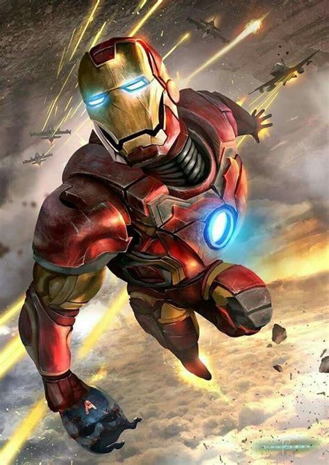 Comic Book Artwork Marvel Comics Marvel Iron Man