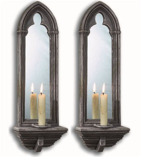 Candle Wall Sconces With Mirror - details about mirrors by chapter house design